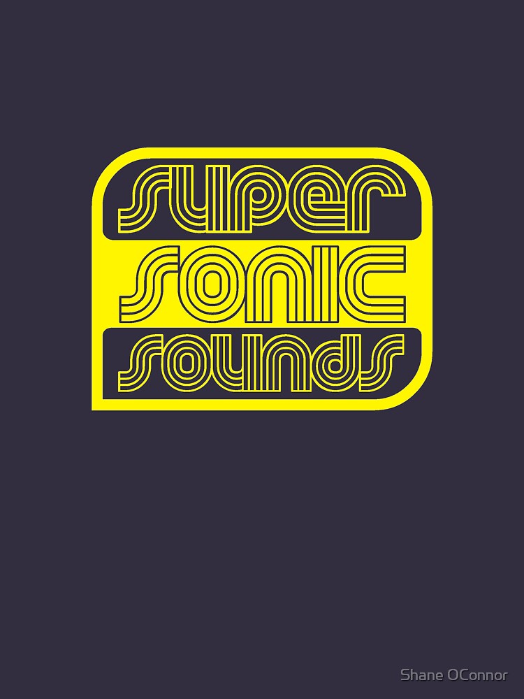SUPER SONIC SOUNDS by ShaneConnor