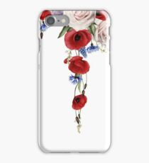 Poppies and cornflowers iPhone Case/Skin