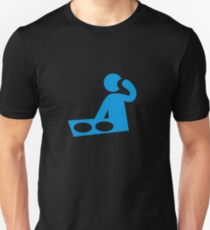 BLUE MORPH DJ T-Shirt