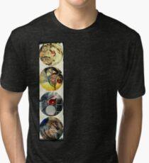 KELKIRK ST. from papa to rangi flag Tri-blend T-Shirt