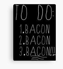 To do list Canvas Print