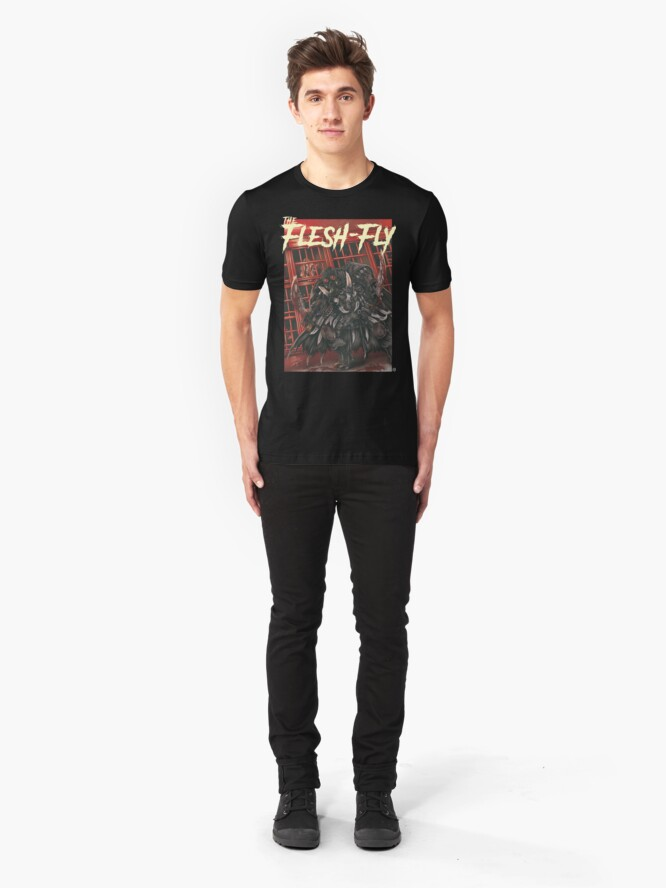 Vista alternativa de Camiseta ajustada The Flesh-Fly