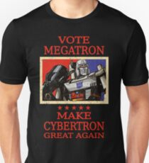 Wähle Megatron Unisex T-Shirt