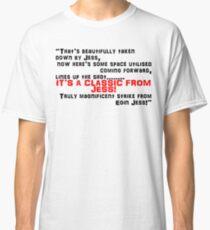 Eoin Jess Scores Rocket at Ibrox Classic T-Shirt