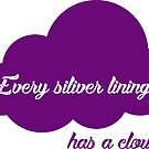 Every silver lining ... has a cloud by MissElaineous Designs