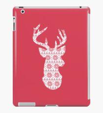 Winter Knit Reindeer iPad Case/Skin