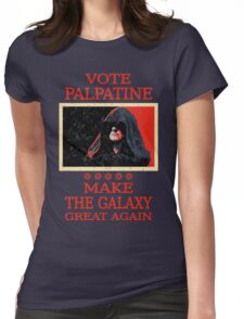 Vote Palpatine Womens Fitted T-Shirt