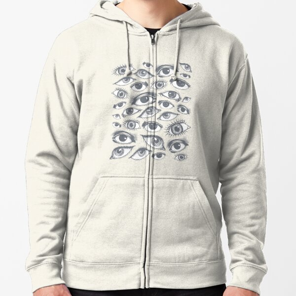 The Eyes Have It Zipped Hoodie