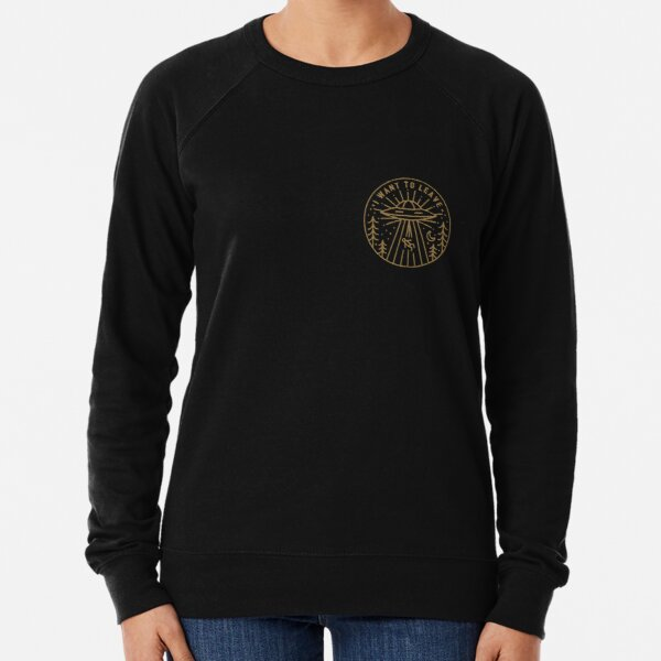 I Want To Leave - Pocket Lightweight Sweatshirt