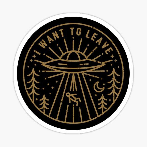 Ich will gehen - Tasche Sticker