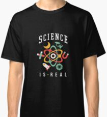 Science Is Real Earth Day March Science Scientist Classic T-Shirt