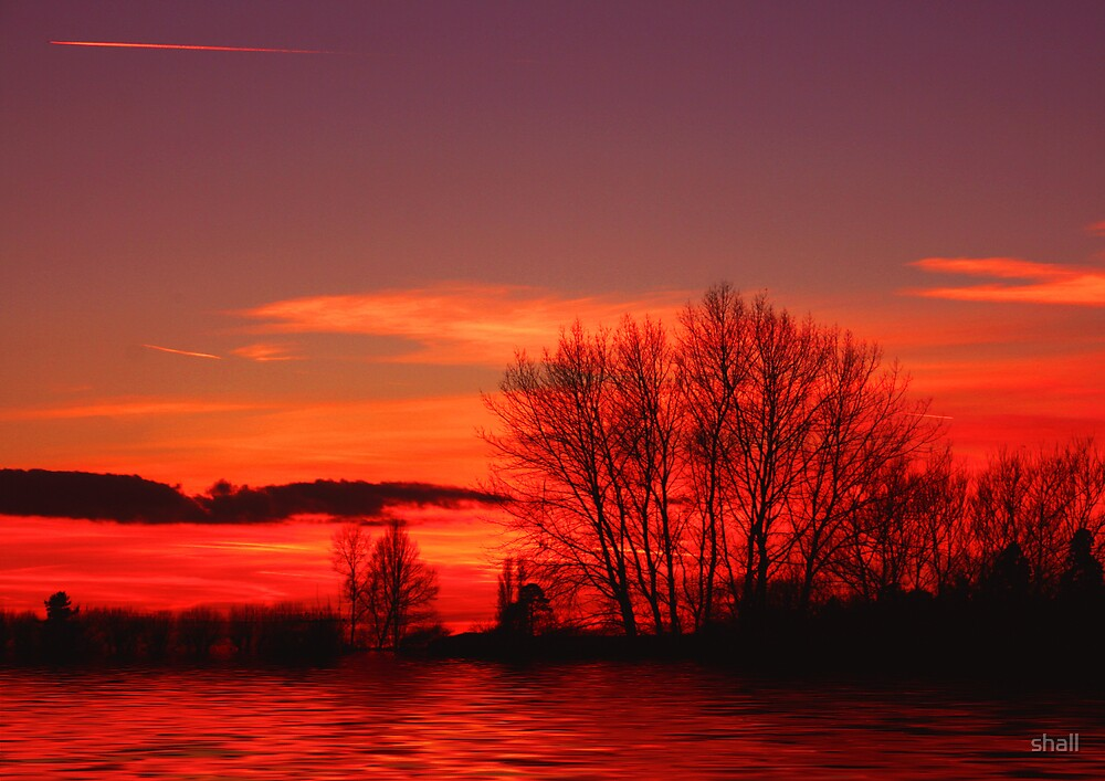 Red Sky at Night... by shall