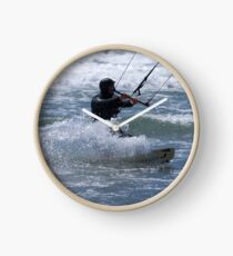 Kitesurfing in the Ocean - Coming Back to Shore Clock
