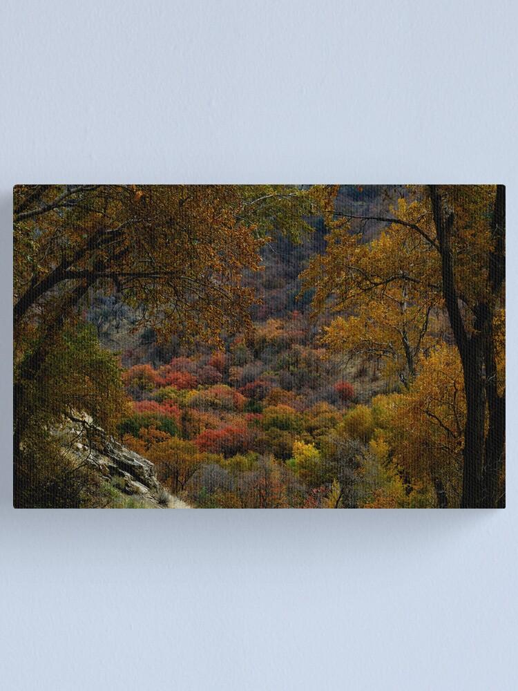 Alternate view of Eden in Autumn Canvas Print