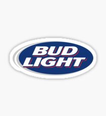 Bud Light Sticker Sticker