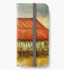 Red Roof Barn iPhone Wallet/Case/Skin
