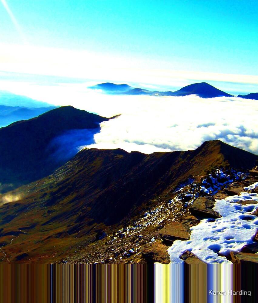 Virtual Blue Mountain by Karen Harding