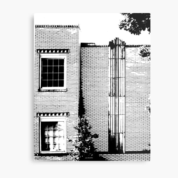 Old Medical Clinic  McMinnville Tennessee Metal Print