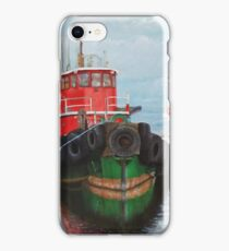 Tugboats on Penobscot Bay  iPhone Case/Skin