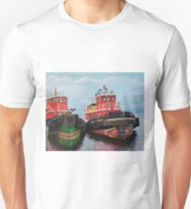 Tugboats on Penobscot Bay  Unisex T-Shirt