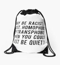 why ? Drawstring Bag