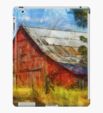 Eureka Road Barn - Rural Art iPad Case/Skin