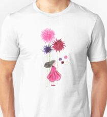 A little girl in pink #3 - Katerina Unisex T-Shirt