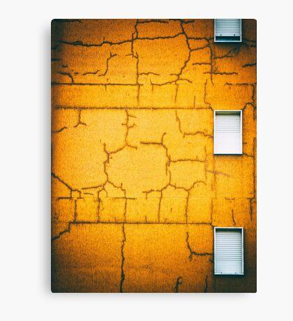 White shutters Canvas Print