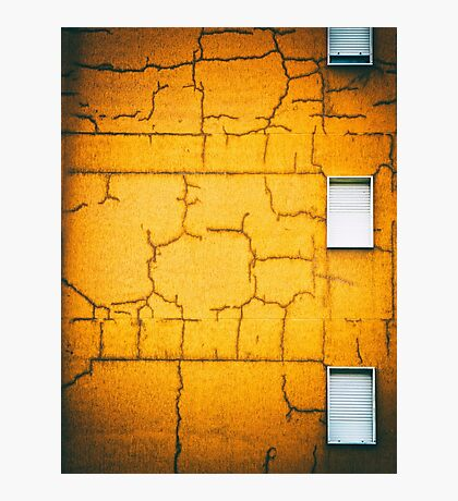 White shutters Photographic Print