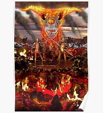 Hellfire Triptych: The Duelists Poster