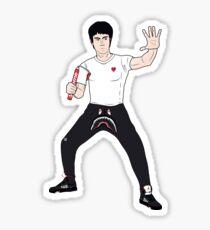 Bruce Fleek Sticker