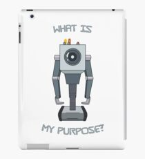 Rick and Morty – What Is My Purpose? iPad Case/Skin