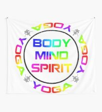 Yoga Meditation Design Wall Tapestry
