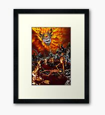 Hellfire Triptych: The Victor Framed Print