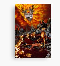 Hellfire Triptych: The Victor Canvas Print