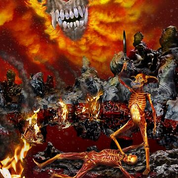 Hellfire Triptych: The Victor by BryanKSmith