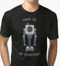 Rick and Morty – What Is My Purpose? Tri-blend T-Shirt