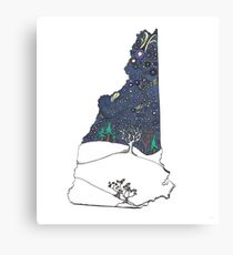 I snow love New Hampshire  Canvas Print