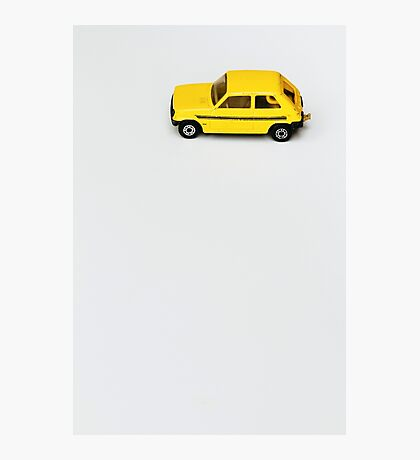 Lil Yellow Car Photographic Print