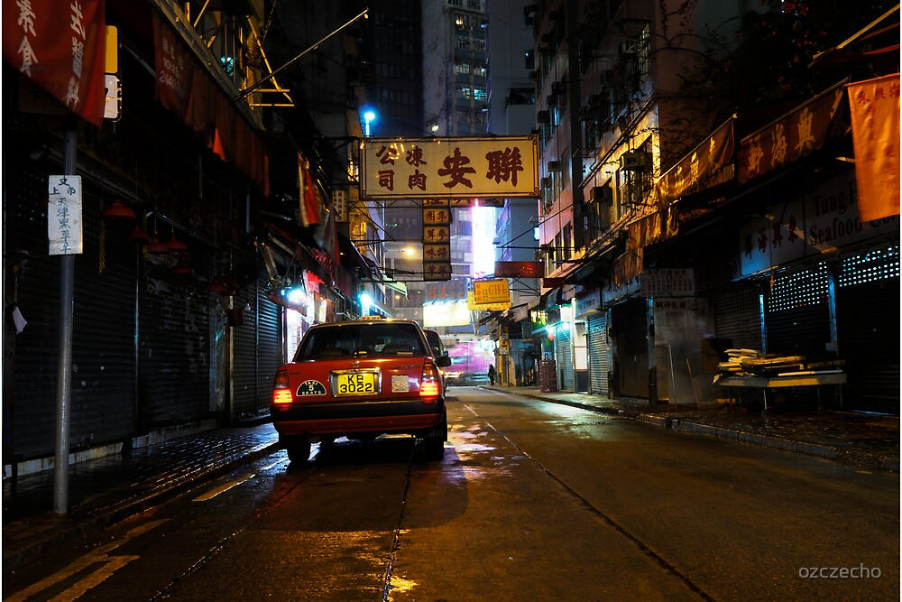 Colours of Hong Kong by ozczecho