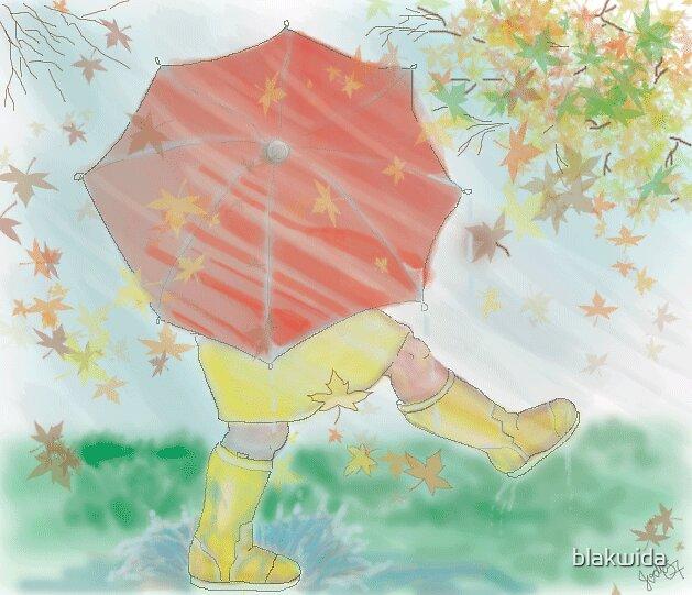 me and my umbrella by blakwida