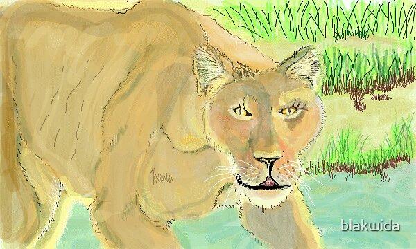 the lioness by blakwida