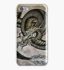 Japanese Dragon Grasping Pearl Of Wisdom iPhone Case/Skin