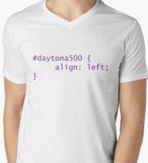 Droll - Daytona 500 Mens V-Neck T-Shirt