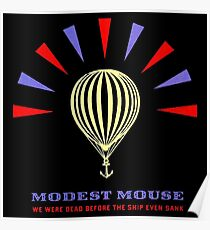 MODEST MOUSE LOGO IN BLACK Poster