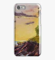 Rough Seas - Pastel Painting iPhone Case/Skin
