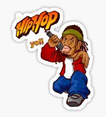 Hip Hop Singer Sticker