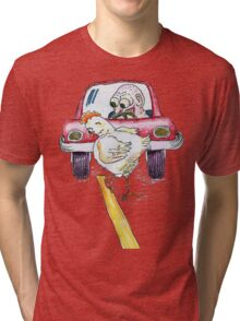 Chicken Dance Tri-blend T-Shirt
