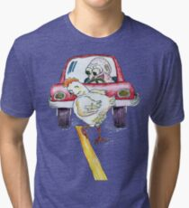 Chicken Dance Tri-blend T-Shirt