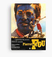 Pierrot le Fou - Il bandito delle ore undici - Jean Luc Godard Canvas Print